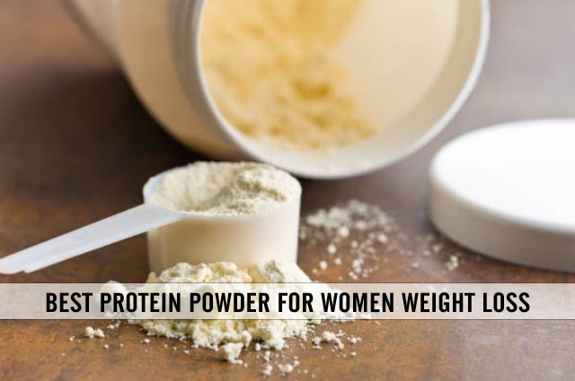 best protein powder for women weight loss