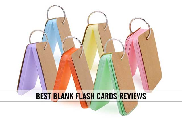 best blank flash cards with binder ring reviews